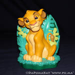 The Lion King - Cub Simba Bank by Just Toys - 1994