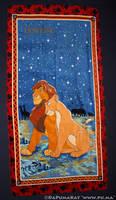 The Lion King - Simba and Nala Towel from Germany