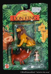 The Lion King - Adult Simba / Pumbaa - Mattel 1994