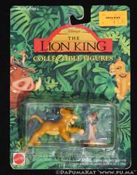 The Lion King - Cub Simba and Timon - Mattel 1994