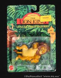 The Lion King - Mufasa and Cub Simba - Mattel 1994 by dapumakat