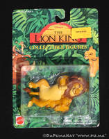 The Lion King - Mufasa and Cub Simba - Mattel 1994 by dapumakat