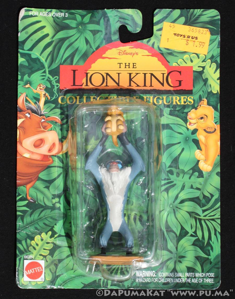 The Lion King - Rafiki and Cub Simba - Mattel 1994
