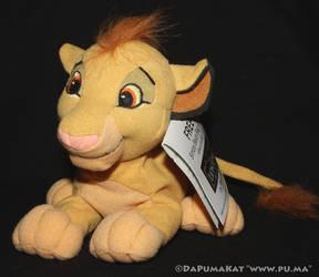 The Lion King - Cub Simba plush toy - Europe, 2003