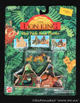 The Lion King - Mini Pride Rock Playset - 1994