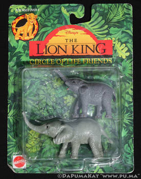 The Lion King - Circle of Life Figures - Elephants