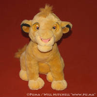 Cub Simba plush from the Netherlands