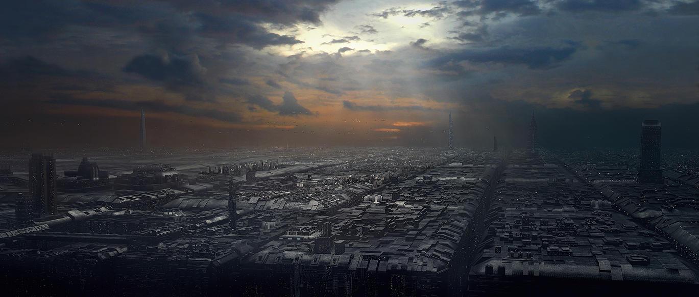 City Matte by mortalitas