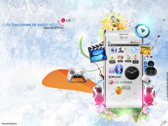 LG Optimus GT540 by HBLoK