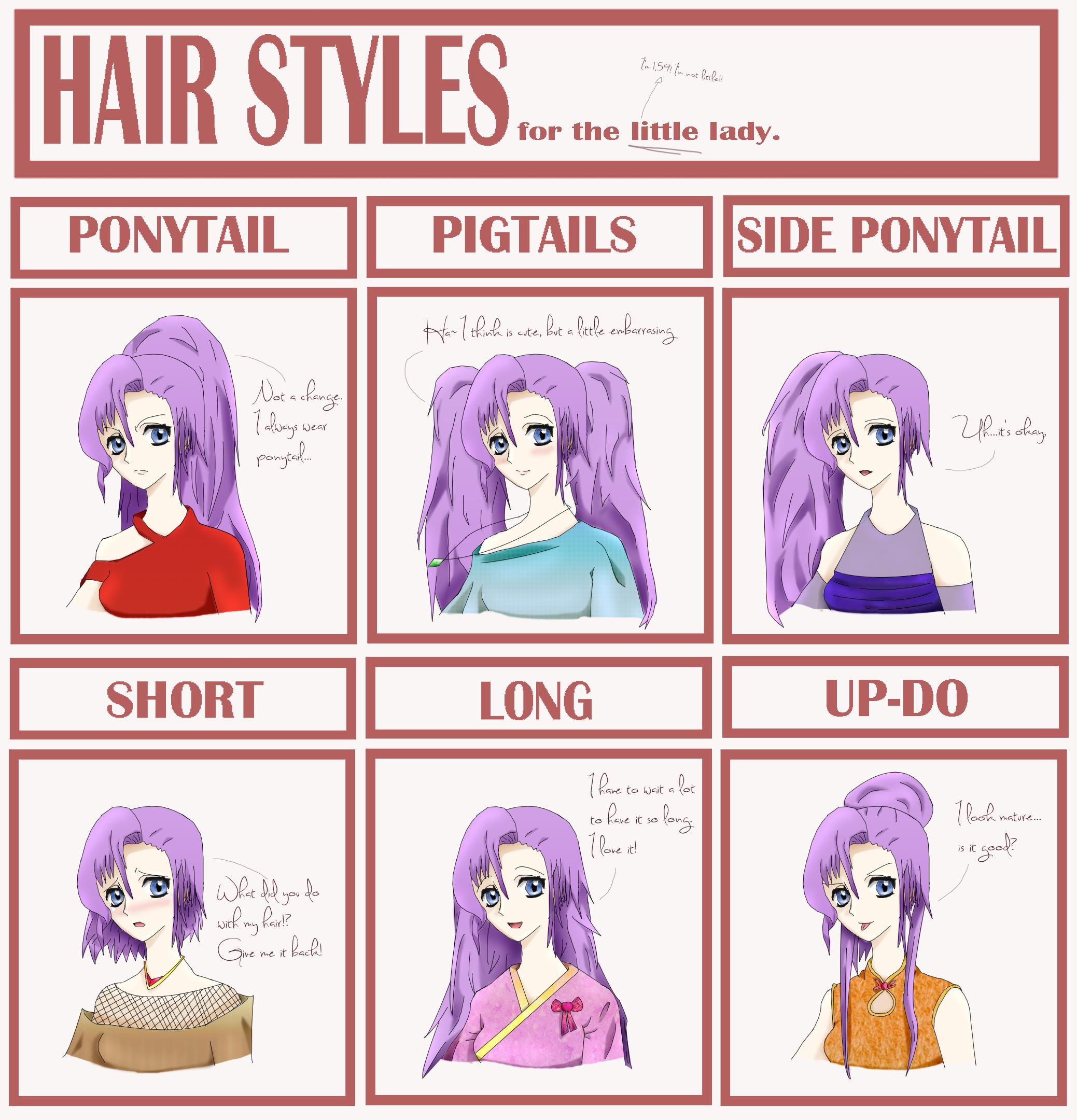 Oc Kyuna Hairstyle Meme By Otanimanga On Deviantart