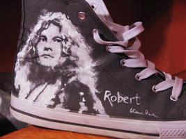 Robert Plant sneaker by vvyk