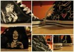 Hendrix n' Joplin sneakers