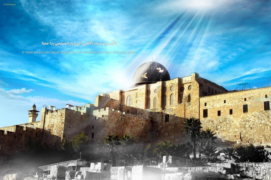 Msjid Al Aqsa by shiagraphic