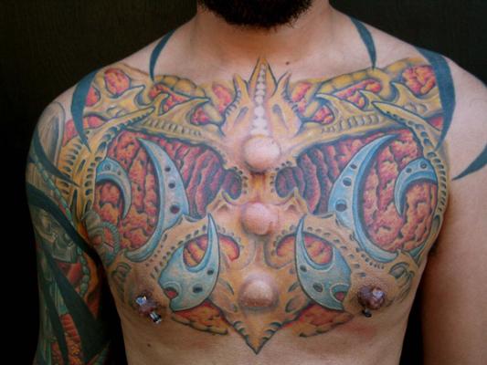 Tat 4 - chest tattoo