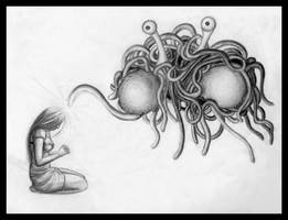 Pastafarian Blessing by Ifig