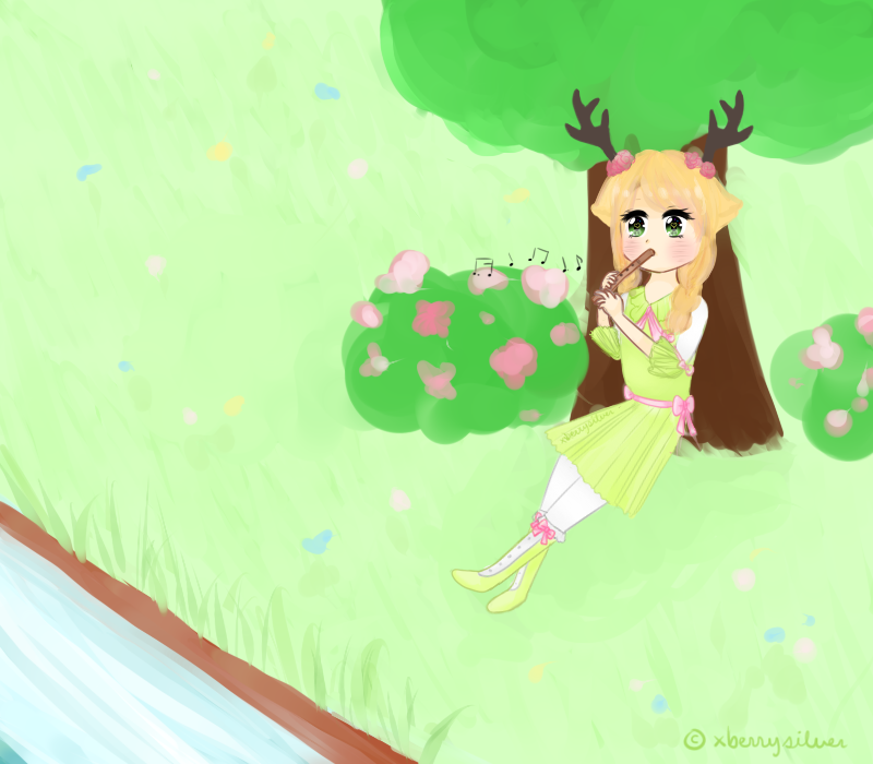 [AT: Crystal-Star74] Nature Music ~ by xBerrySilver