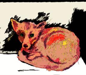 A Fox by KACantol