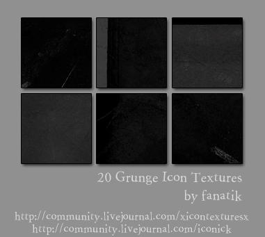 20 Icon Sized Grunge Textures by gafanatik