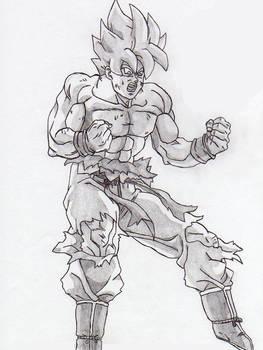 Goku Super Saiya-jin 1