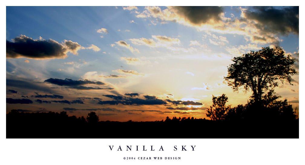 Vanilla Sky by cezars