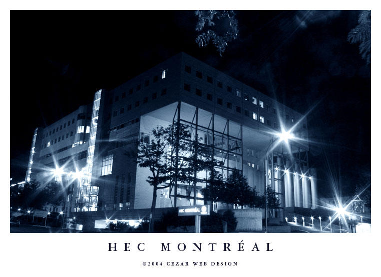 HEC Montreal by cezars