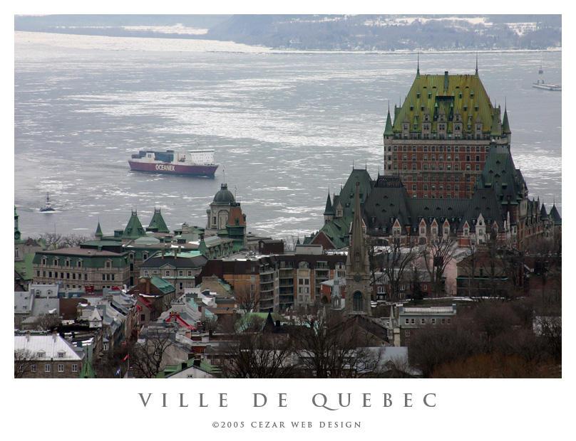 Ville de Quebec by cezars