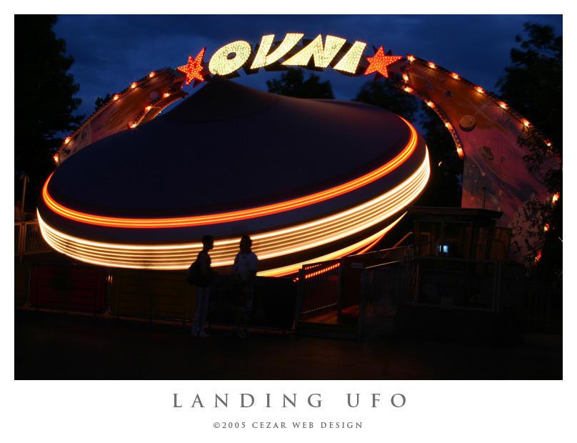 Landing UFO by cezars