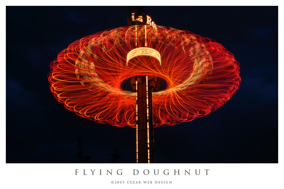 Flying Doughnut by cezars