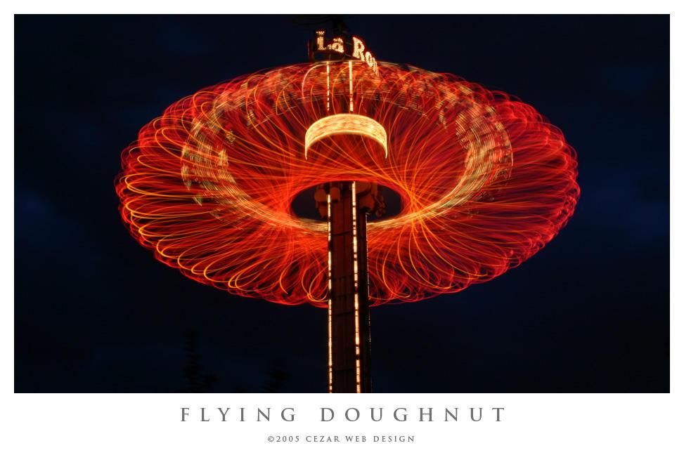Flying Doughnut by cezars