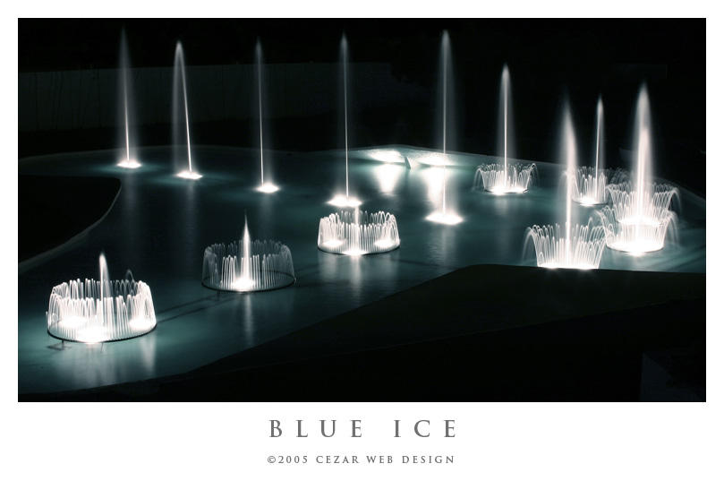 Blue Ice by cezars