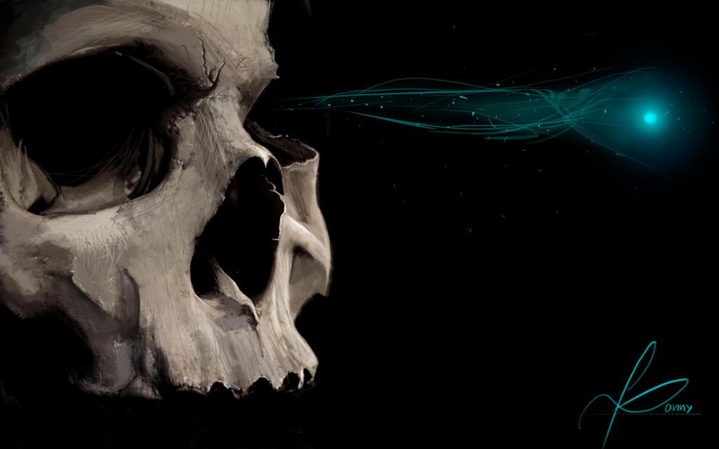 Skull by DannyDaniels-drow