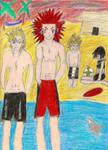 Nobody beach fun by flurryflames9