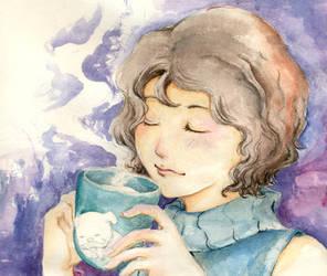 Want a little coffee by ThuyNguyen13