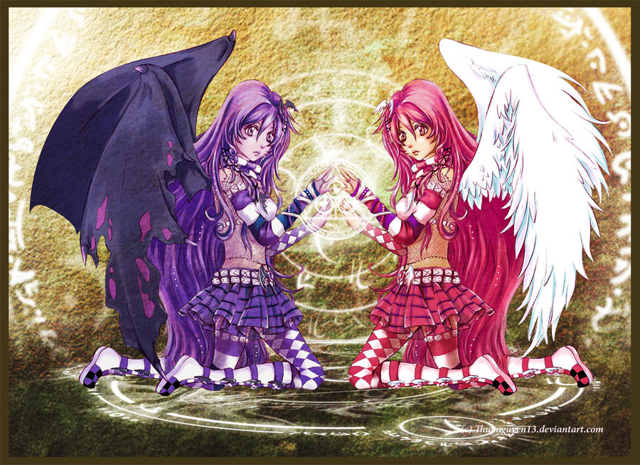Anime Twins Good And Bad | www.pixshark.com - Images ...
