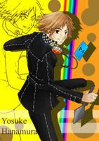 Art Trade: Yosuke Hanamura by sagtavilia