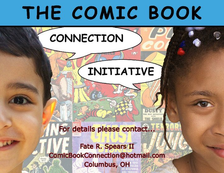 The Comic Book Connection Initiative Banner #2 by art-by-mike