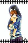 In beloved arms