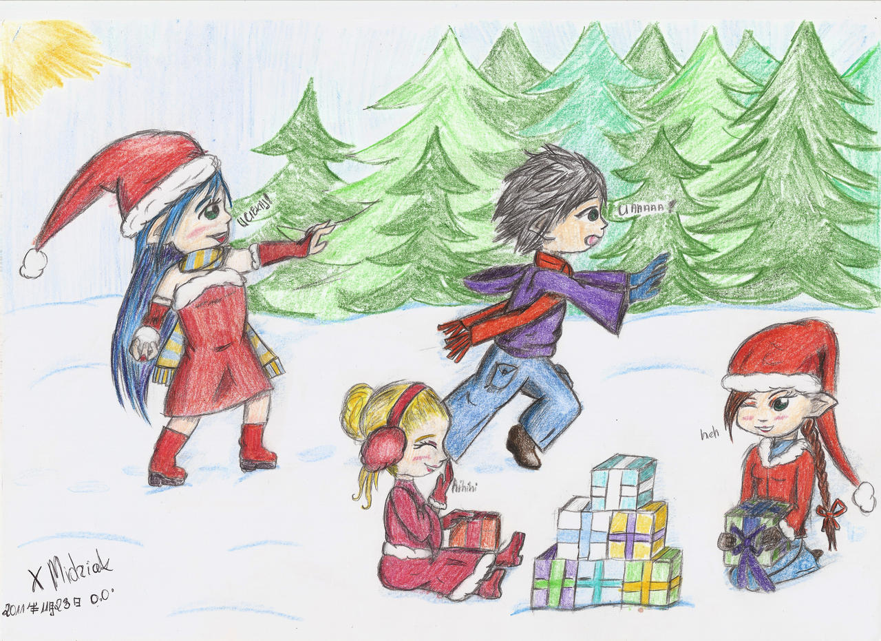 Christmas Meeting by xMidziak