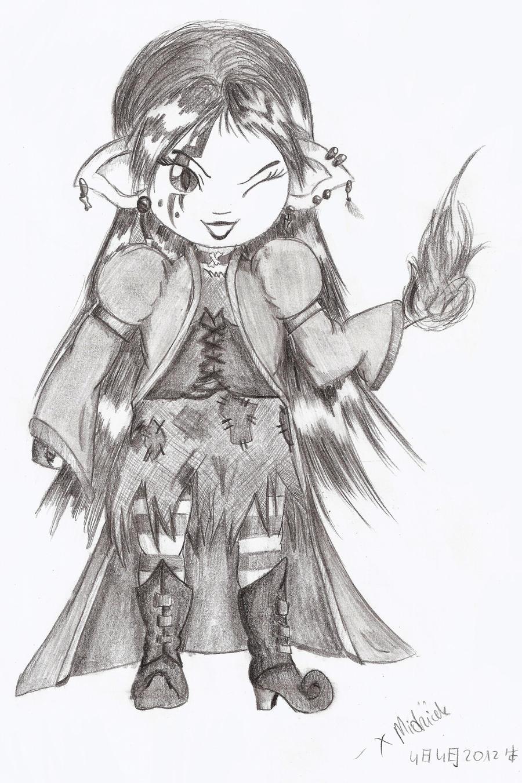 Little Witch by xMidziak
