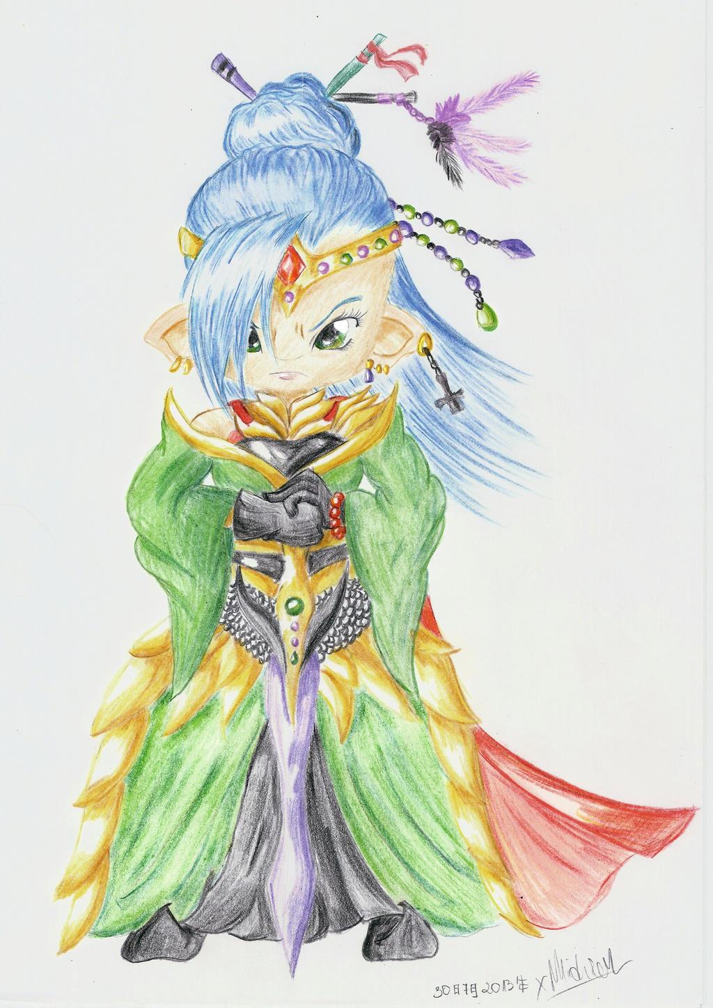 Midd - Empress of Tyconteroga Version 3 by xMidziak