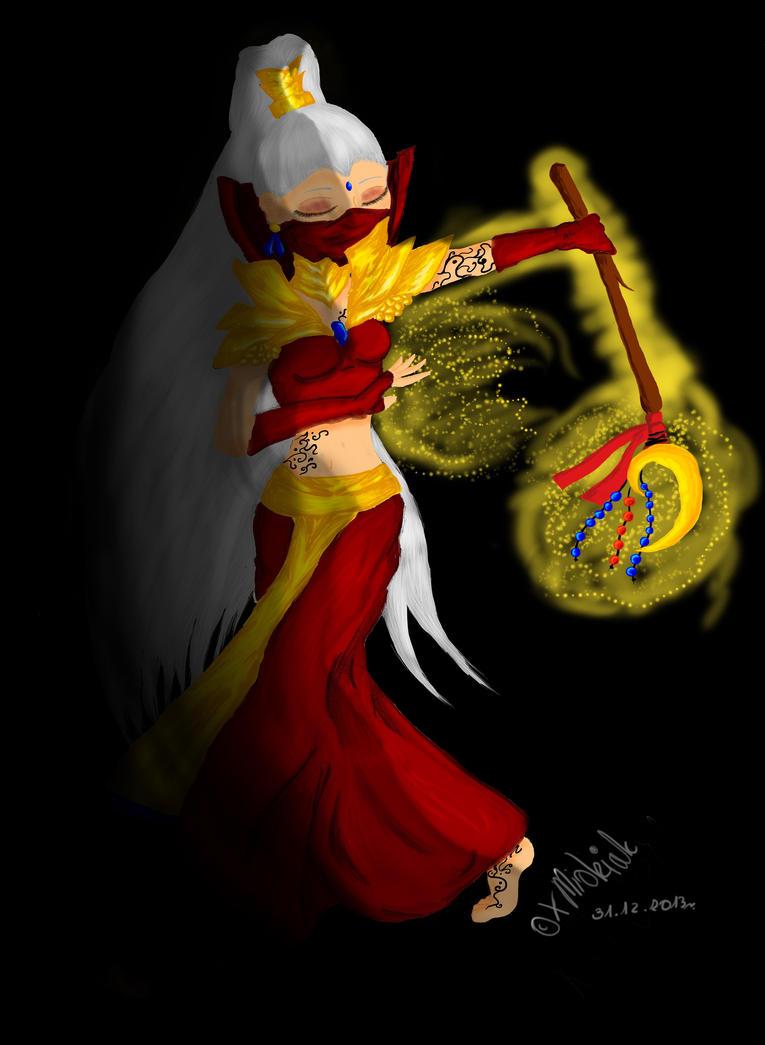 Unknown Priestess by xMidziak