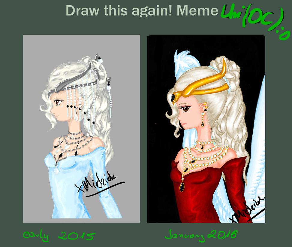 Draw it again - Uri OC by xMidziak