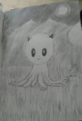 Tentacle Kitty Fanart 1 by Jasper-13