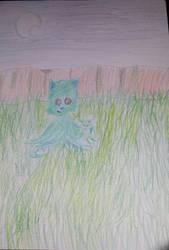 Tentacle Kitty Fanart 4 by Jasper-13