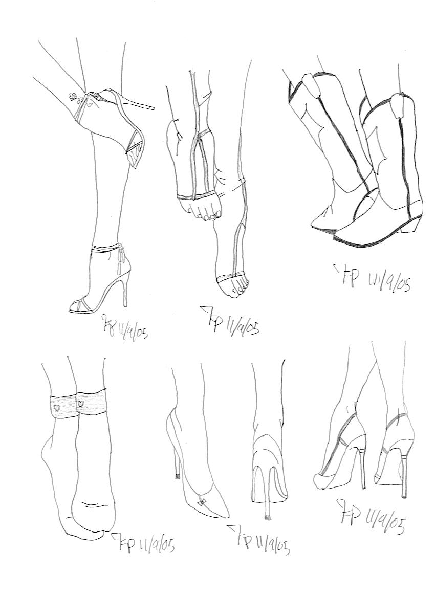 It's just a picture of Selective Drawing On Feet
