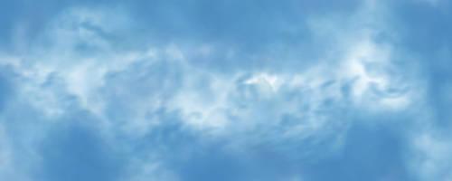 Fluffy Cirrus Clouds by fuzzjp