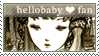 Hellobaby Fan Stamp by MzzAzn