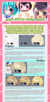 Chibi Hair Coloring Tutorial