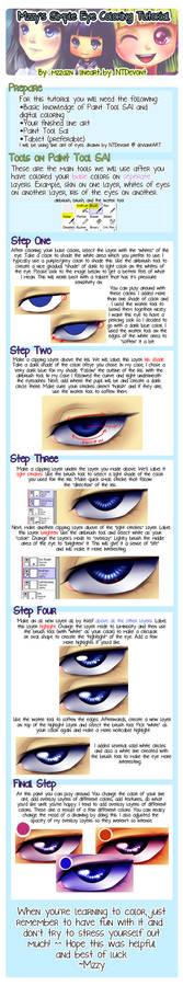 Paint Tool SAI: Easy Digital Eye Coloring
