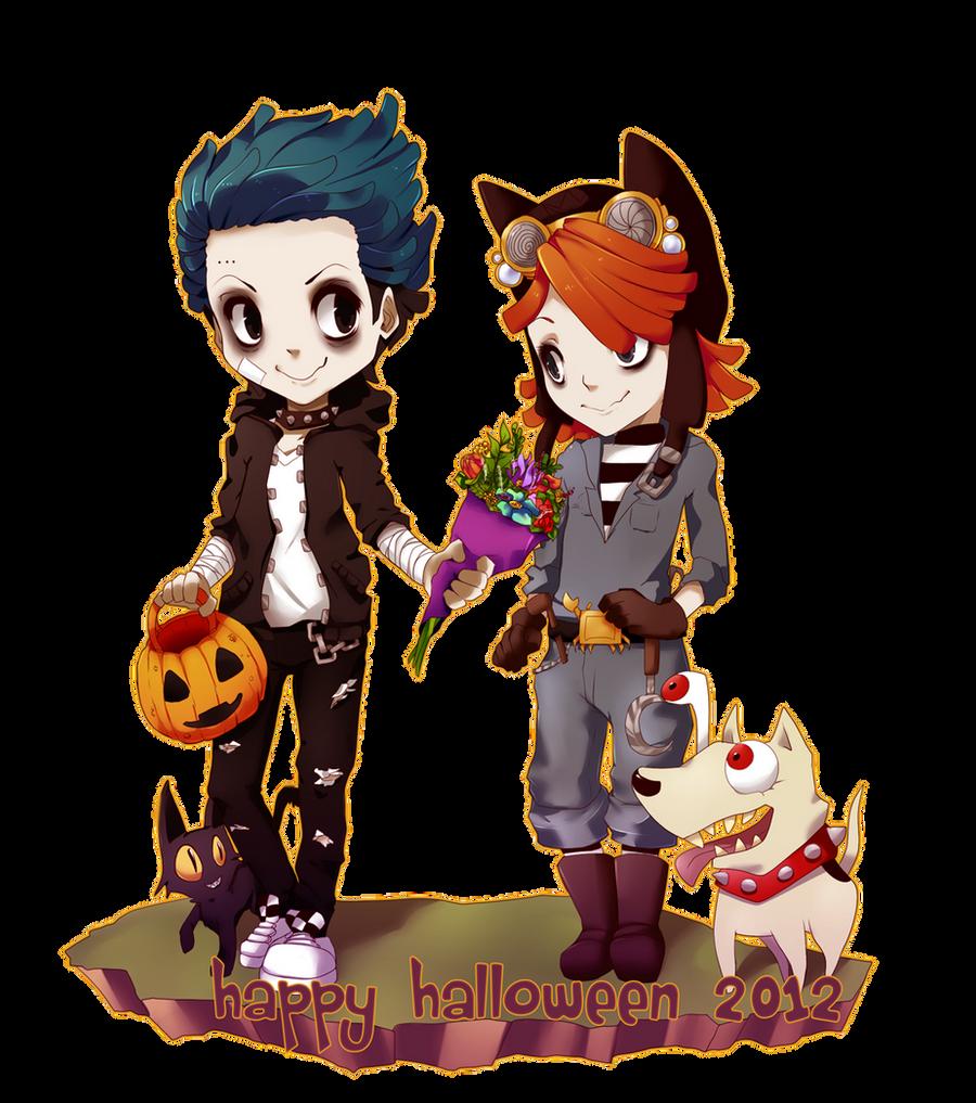 Happy Halloween Jumpix by MzzAzn